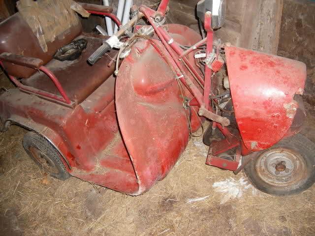 Triciclo Adaptado Norberto Abad 75cc 1zokabl