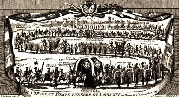 Le cérémonial des funérailles de Louis XIV 244wbqv