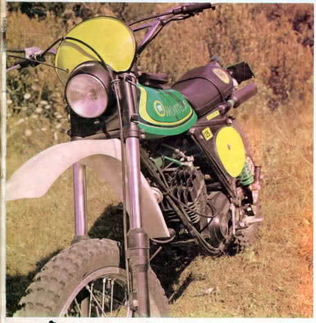 ¿Montesa Enduro 75 de color verde? 2hmiv0n