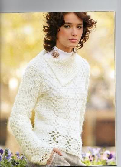 Crochet - Sueter de mangas cortas 2metl6s