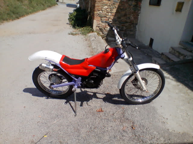 Mecatecno Alevín 50 motor Franco Morini E8akhd