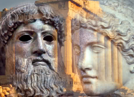Plutone e Prosèrpina. Leggenda greca. Faxw7a