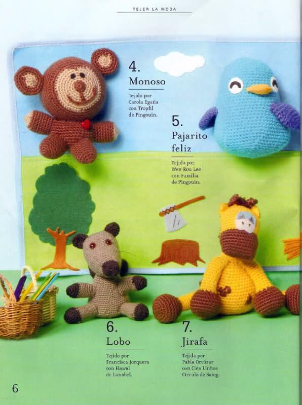 como - necesito saber si este mono esta hecho con 2 agujas o palillos.y como hacerlo Jqrga1