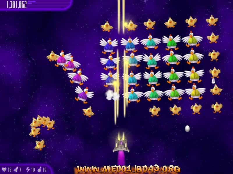 لعبة Chicken Invaders بجميع أجزائها X6evt3