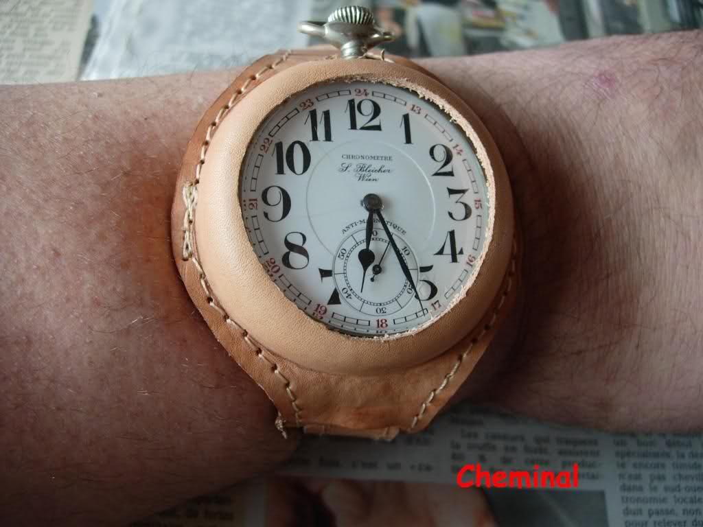 Comment portez-vous votre montre de gousset 105zdxc