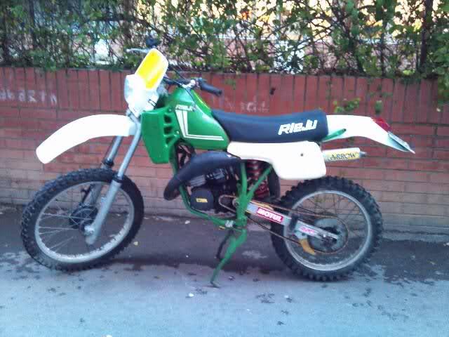 Mi Rieju MR 80 Verde  11abgjl