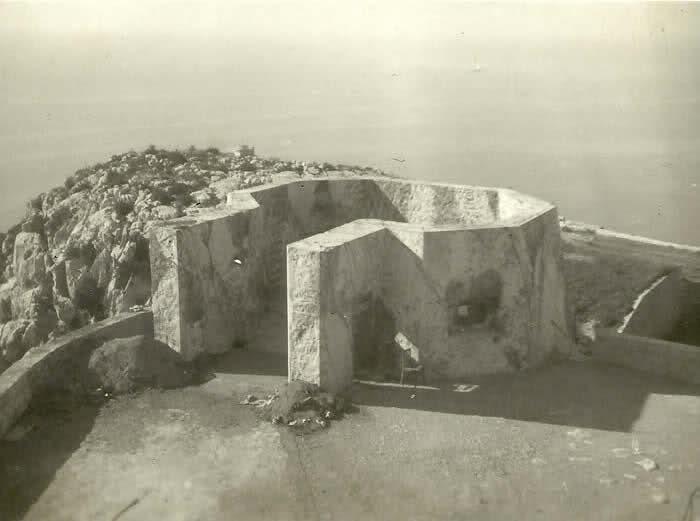 Radar mer, Tête de Chien (La Turbie, 06) 168s87m