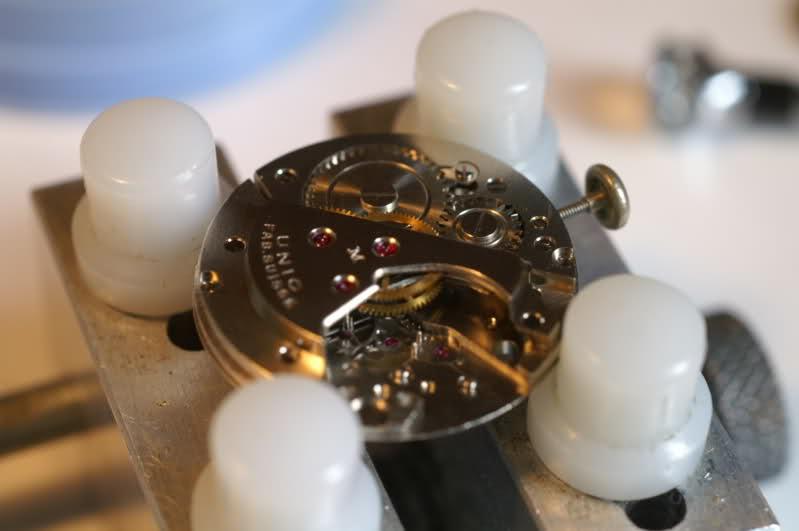 Restauration d'une vintage : UNIC calibre AS  2irvs49