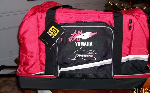 nouvelle arrivee 655d0 f2658 Gros sac de voyage Yamaha a vendre