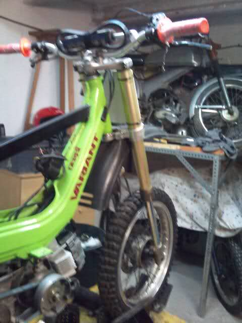 Derbi Variant a punto para correr, 2you7ms