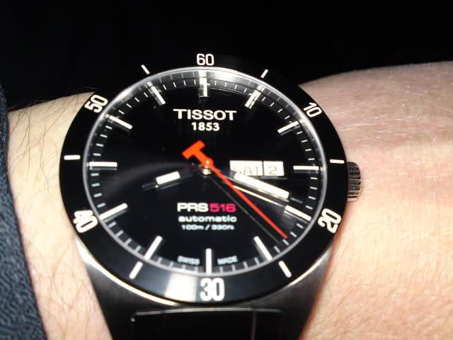 La p'tite dernière - Tissot PRS516 - 35lz3i1