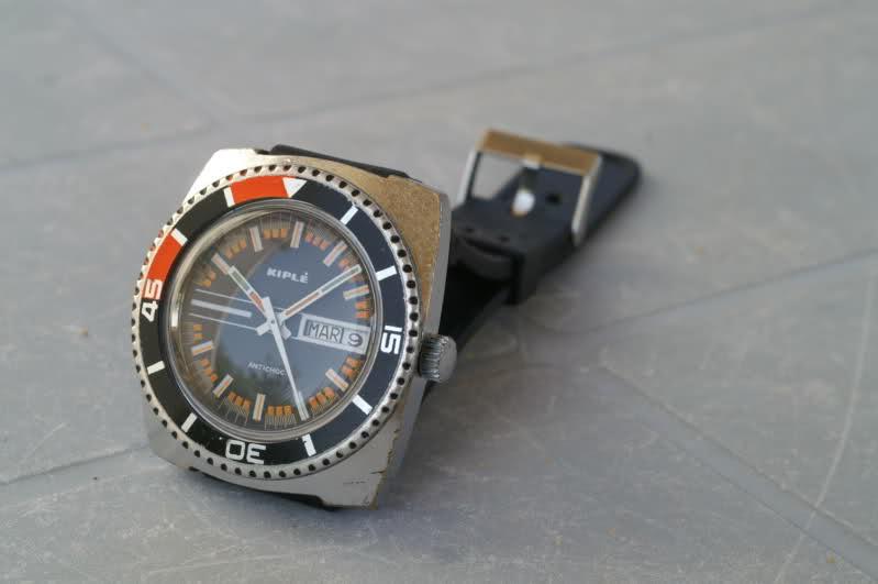 Kiplé montres vintage françaises dans l'ombre des Lip et Yema 9ruibm