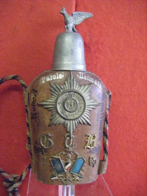 Post sur les objets du réserviste  de  l'empire allemand 10e291t