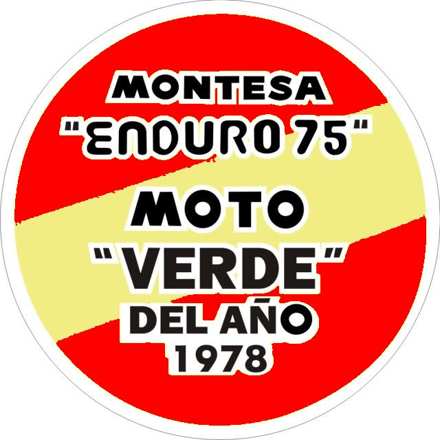 ¿Montesa Enduro 75 de color verde? 11s30va