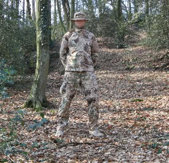 Uniformidad KSK multicam 25t82sn