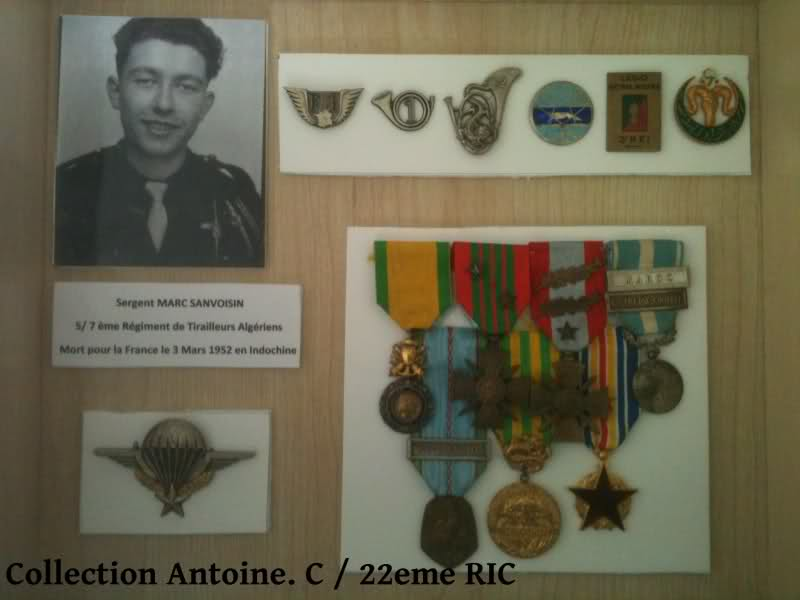 Hommage au Sergent Marc Sanvoisin, du 7ème RTA 29pp8xi