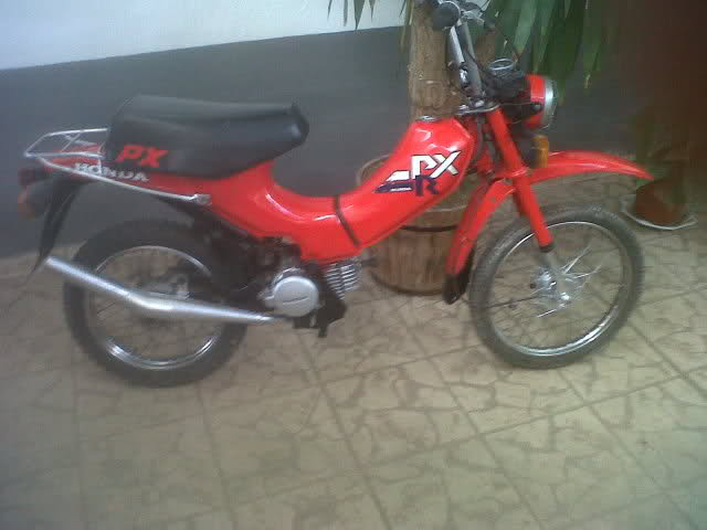 Honda PXR - Para Restaurar 2a4u03l