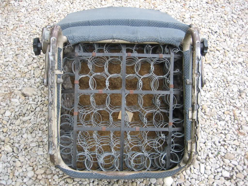 Sellerie et refection sièges 2mo9low