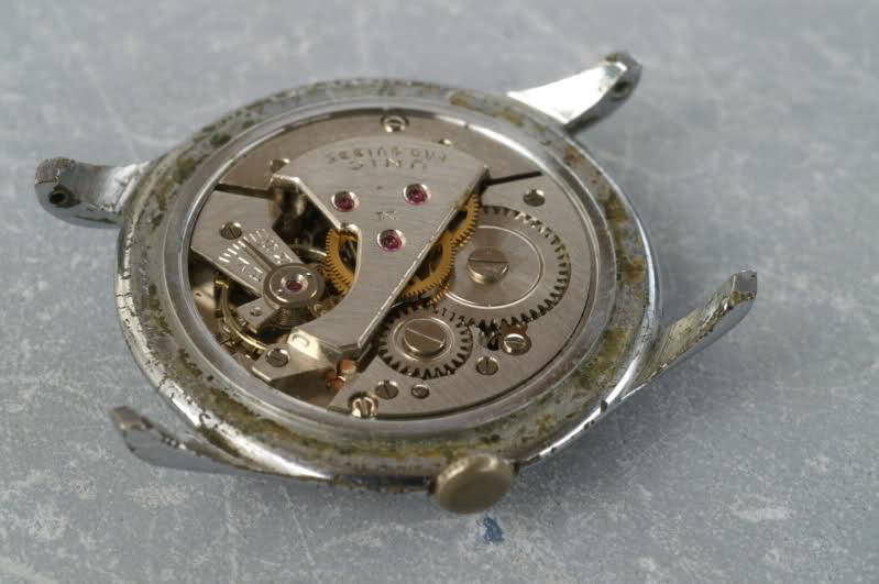 Restauration d'une vintage : UNIC calibre AS  35bxgsh