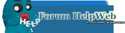 Forum HelpWeb - Tu foro de Webmasters Dzb5l2