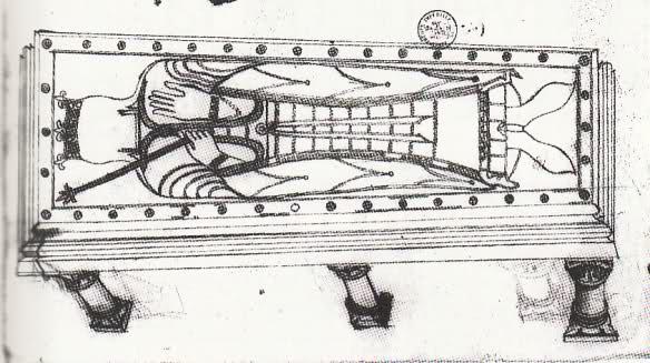 Les tombeaux mérovingiens de Saint-Germain-des-Prés Rli7gm