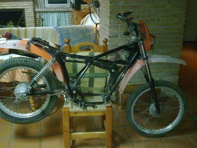 Restauración de Derbi Yumbo CX 21brspc