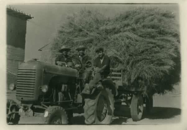 Tractores en fotos de época.  245dixe