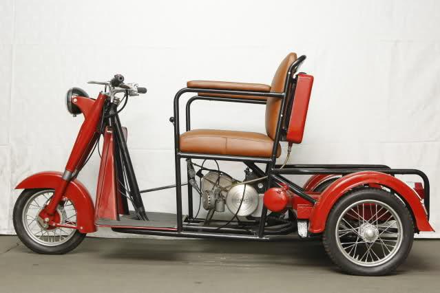 Triciclo Adaptado Norberto Abad 75cc 2ii7fo2