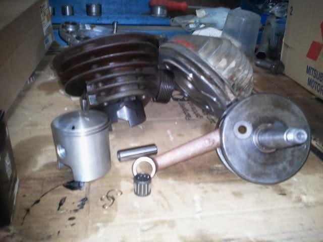 Preparación motor Derbi 4V 2mee0ly