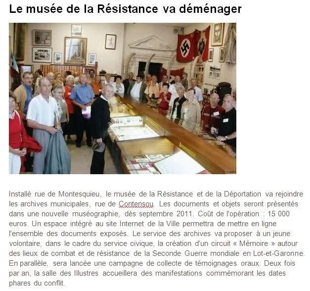 musée de la résistance d'AGEN Ipd4kx