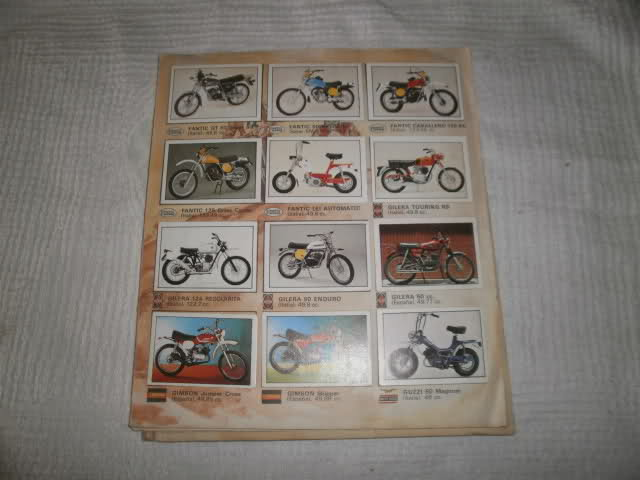 Album de motos Supercromos Wsmfif