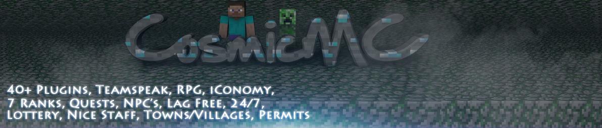 Cosmic Minecraft