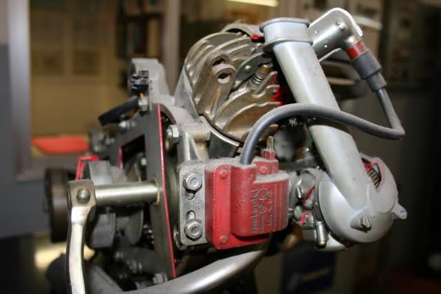 Motor Vespino seccionado 20fszms
