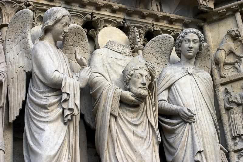Saint Denis, mythe fondateur 2a7fo0z