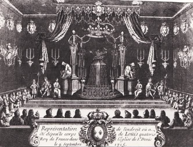 Le cérémonial des funérailles de Louis XIV 2db9g00