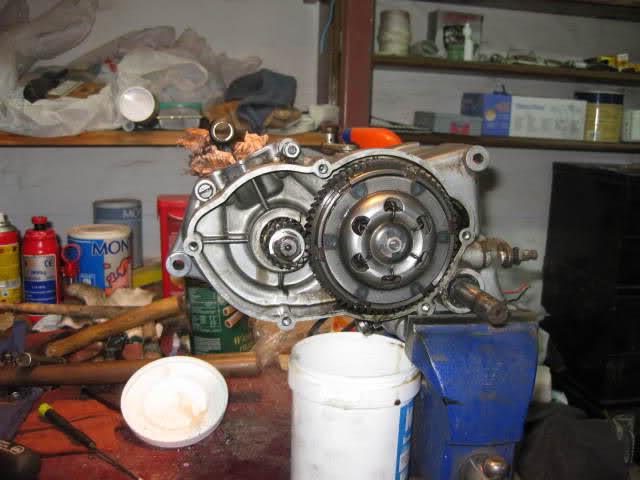 Restauración Ducati Cadet 50 2dirkuv