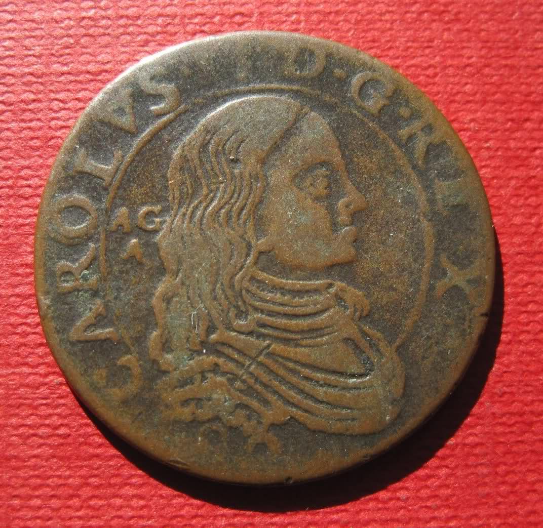 Grano de Carlos II 2ep808j