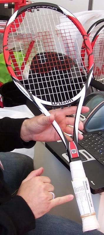 Tensione delle corde Di Federer??? Mkumio