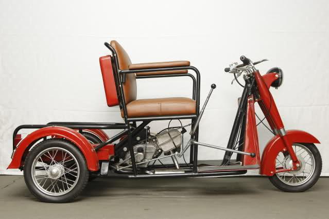 Triciclo Adaptado Norberto Abad 75cc Sncqpx