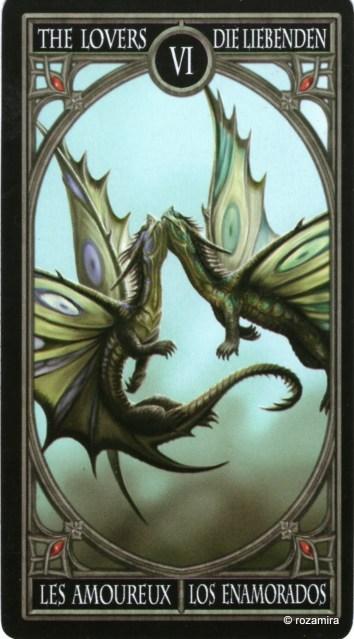 Готическое Таро Анны Стокс /Anne Stokes Gothic Tarot   (скан карт) 11htfmb