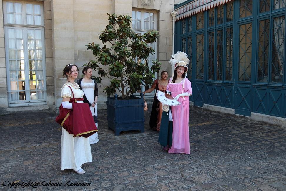 Francia - Castillo de la Malmaison (cerca de París) salida en traje primer imperio 10/05/2015 11tlfev