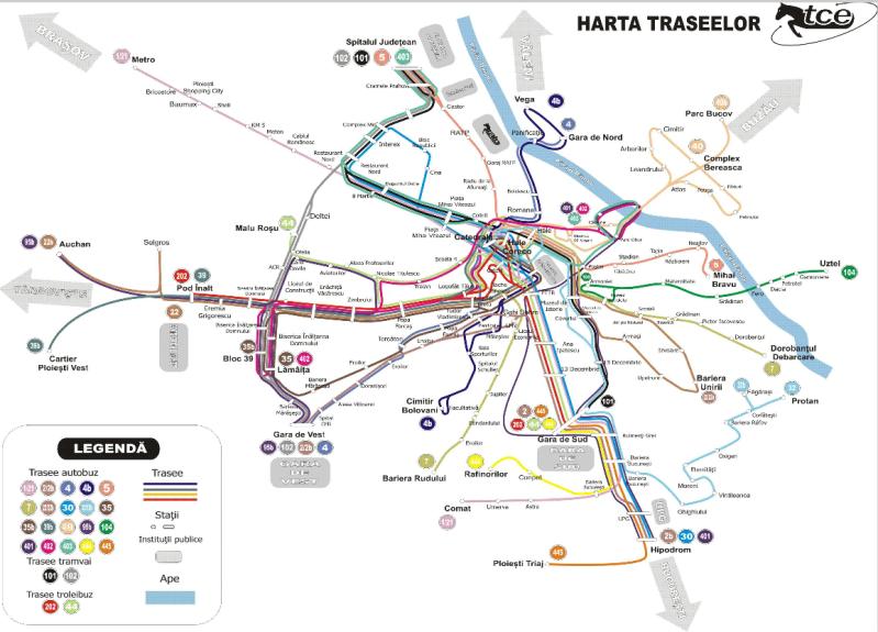 SC TCE SA: Harta traseelor 14dozn8