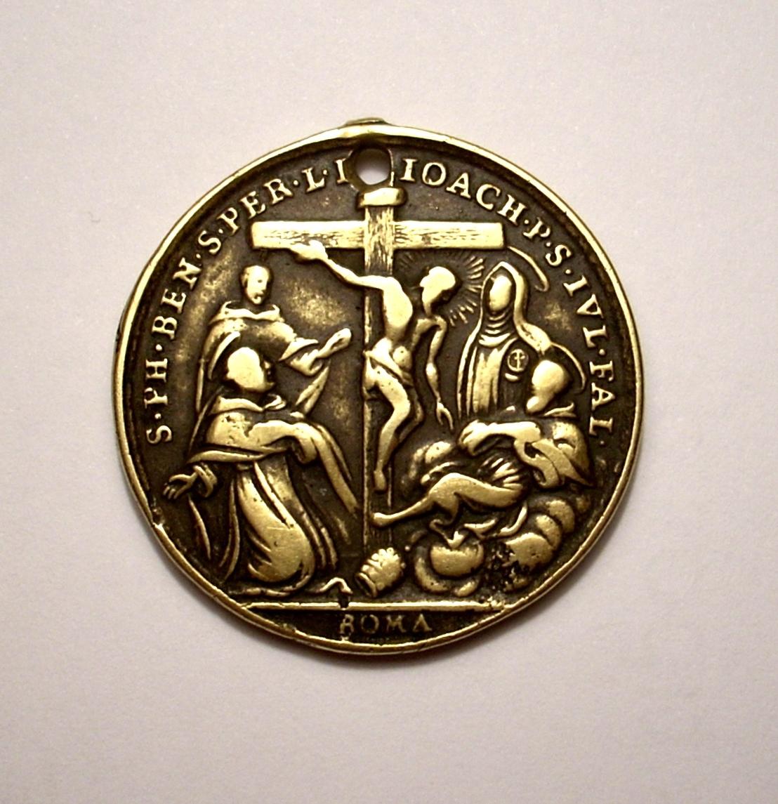 Santos y beatos servitas / Virgen Dolorosa  S. XVIII  (R.M. SXVIII-C54) 14xi4jb