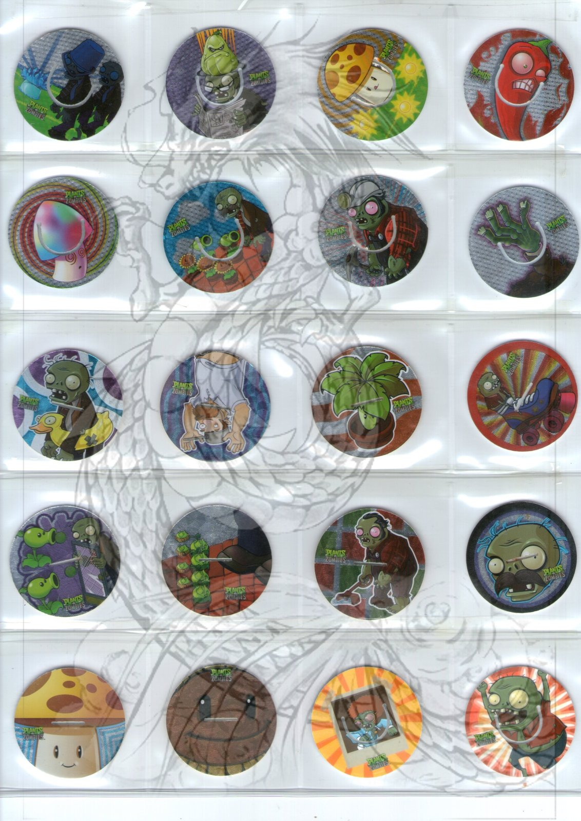 Tazos Plantas Vs Zombies de SABRITAS 15h5xy