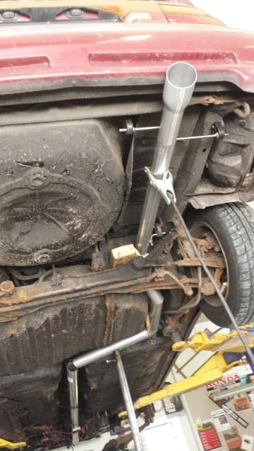 Mazda 626GT Turbo - 29/5 bytte intercooler 17b78o