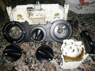 trocando lampada de iluminação dos instrumentos de ventilação 1xx5qf