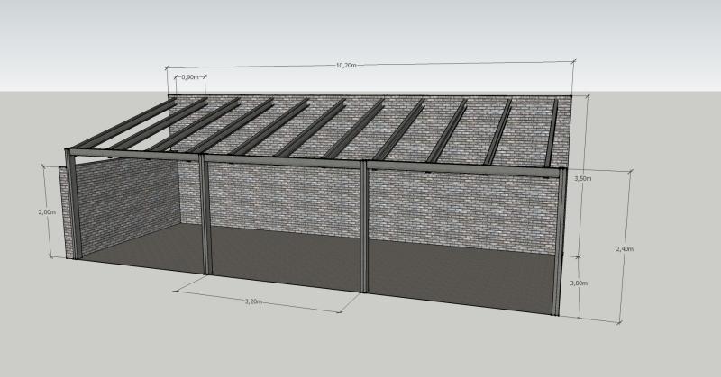 Ayuda para construcción de quincho con estructura metálica 1z5umtu