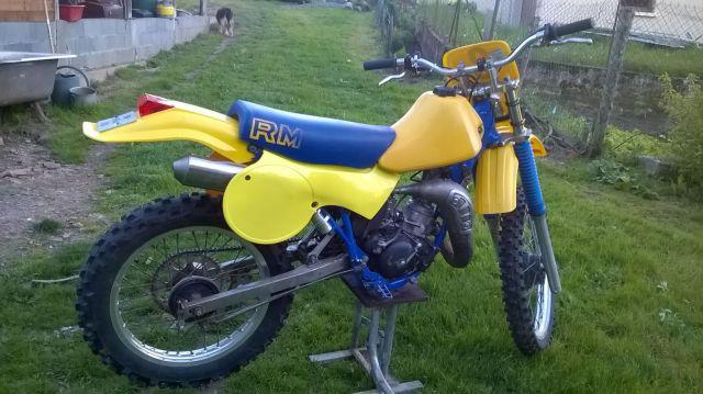 Suzuki RM80 1984 205ow9