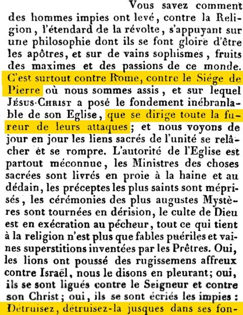 Lettre Encyclique Traditi humilitati nostrae du Pape Pie VIII, du  24 mai 1829  20gcqhj