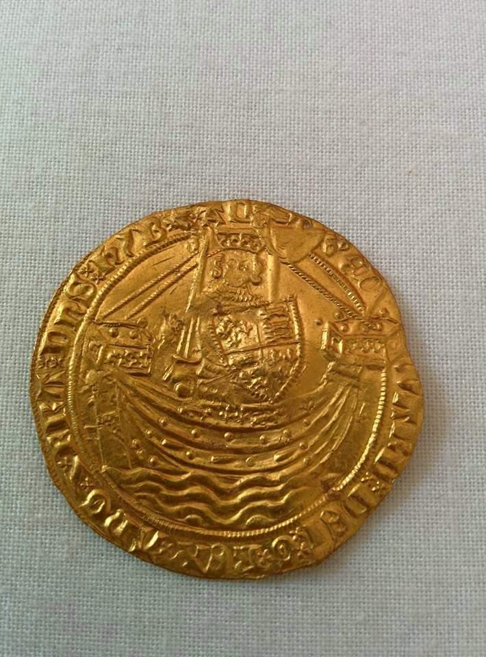 Moneda de oro inglesa para identificar 20ghc1f